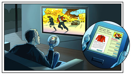 A new white paper suggests devices such as televisions and mobile phones will work interactively by 2020.