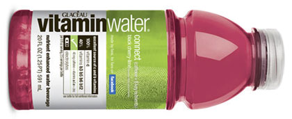 Facebook fans invented Vitaminwater's newest flavor -- black cherry and lime.