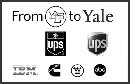 Yale University Press decision to drop a Paul Rand logo repeats a regrettable decision by UPS.